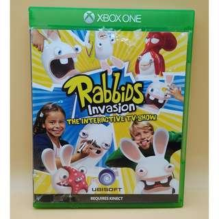(Free postage) Rabbids Invasion for Xbox One