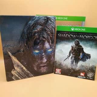 (Free postage) Xbox One Middle Earth Shadow Of Mordor Special Steelbook Edition