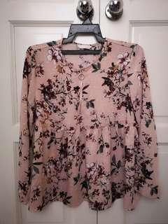 Blouse Sweet Pink