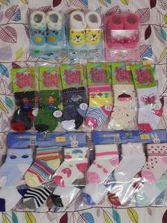 Baby Socks Cotton and 3D with Stuffed Toy