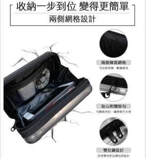 🚚 防震硬殼3c旅遊收納包