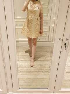 Shanghai tang embroidered dress
