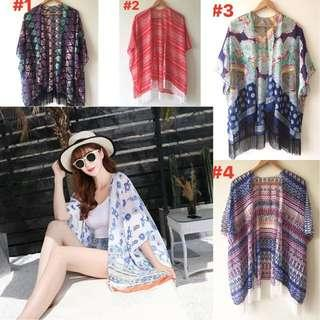 Kimono Cover up for beach and everyday outfit
