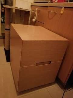 實木床頭櫃/矮櫃