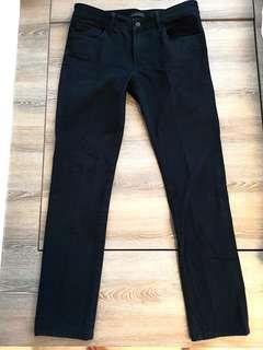 🚚 Uniqlo Mens Navy Chino Jeans skinny fit