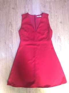 🚚 MANGO Red Dress