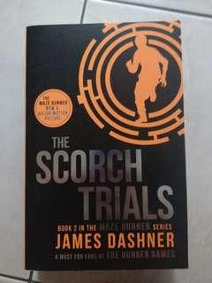 Maze Runner: The Scorch Trials Book