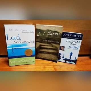 🚚 Christian living books: Joyce Meyer, Stormie Omartian