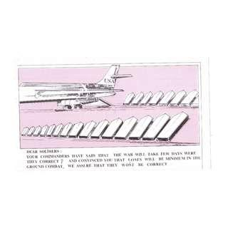 1990-91 Persian Gulf War Iraqi Propaganda Leaflet