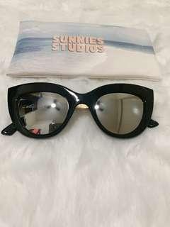 Sunnies Studios Polarized Cateye Sunglasses