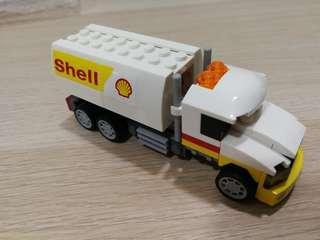 SHELL TANKER LEGO