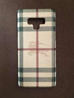 Burberry note9 case