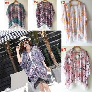 Kimono Cover Up for Beach and Evryday
