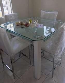 4 Seater Modern Dining Set
