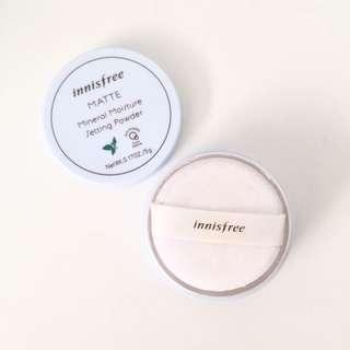 Innisfree Mineral Moisture Setting Powder