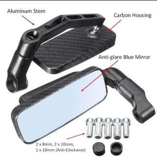 🚚 Side Mirror / Rearview Mirror for eBike / Motorbike / escooter side mirror / Motorcycle mirror