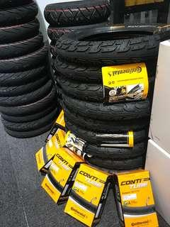 """12"""" Continental Tube & Tyres"""