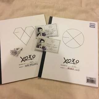 EXO - XOXO KOREAN & CHINESE VERSION ORIGINAL