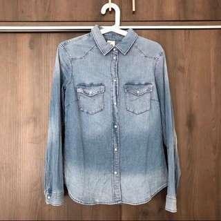 H&M Long Sleeves Denim Shirt