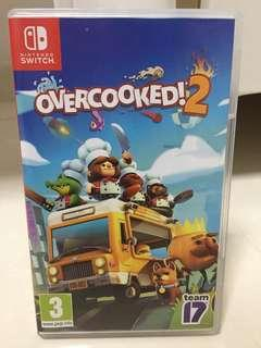 Overcooked 2 game for Nintendo switch