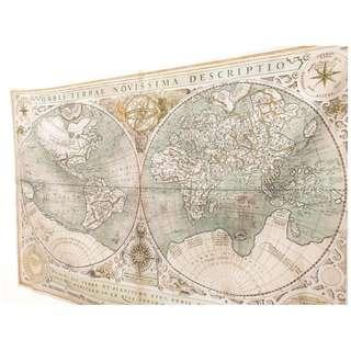 🚚 ●台灣現貨●復古航海地圖-古地圖拍照背景 拍照道具 桌巾 桌布 掛布 世界地圖 拍照背景布 攝影背景 掛布 地圖布 Ig