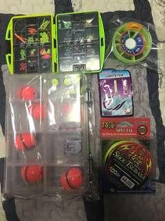🚚 Fishing equipment, brand new