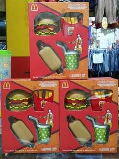 McDonald's Food Cutlery Pretend Play Toys