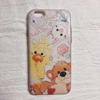 🚚 iphone6 梨花熊手機殼