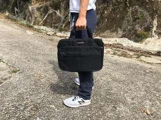 polo 電腦手提袋/黑色公文包