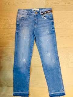 Zara Girls Jeans Size 7 122cm
