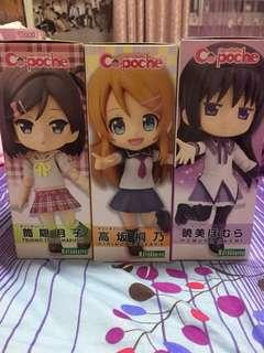 <Anime> Cute Cu-poche figures for sales !