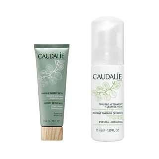 🆕 CAUDALIE Foaming Cleanser and Detox Mask
