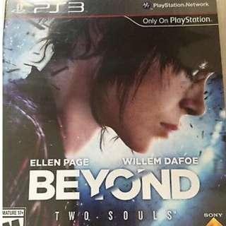 BEYOND: Two Souls ps3版