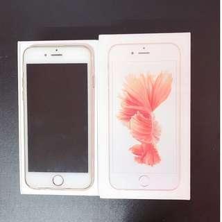 iPhone6S 128G玫瑰金