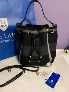 🚚 [ Pending ] Burberry Blue Label Crestbridge Bucket Bag