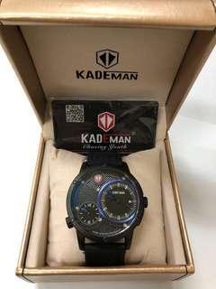 🚚 KADEMAN 瑞士潮牌皮錶