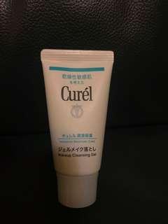 全新 Curel make up cleansing gel