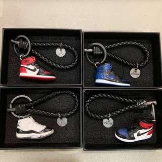 👟 Nike Air Jordan Mini Keychains