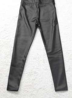 Women winter leather pants skinny pants trousers 女緊身皮褲