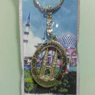 馬來西亞雙子塔鎖匙扣 Malaysia twin tower key ring