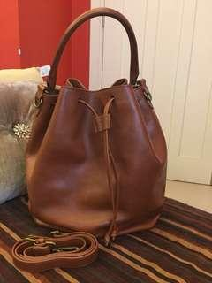 MADEWELL Lafayette Bucket Bag with Strap