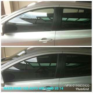 Car Solar Flim Install