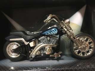 🚚 Hot Wheels Twin Flame Motorcycle Metal Collection 1:18 Moto NIB 2003 Suzuki