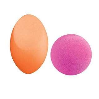 Masami shouko professional complexion Beauty Blender Duo Orange Pink