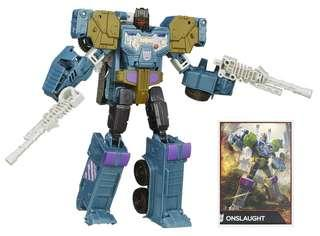 [Brand New] Transformers Combiner Wars - Voyager Class Onslaught