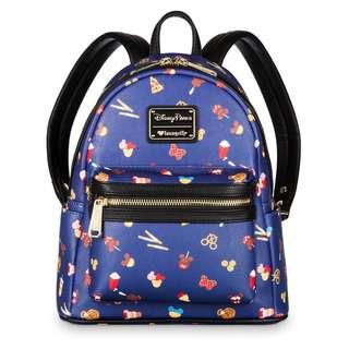 [PO] Disney Parks Food Icons Mini Backpack by Loungefly