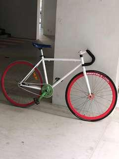 Harris Fixie Cableless Bicycle 700c