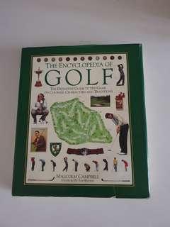Hardcover Book - Golf - Buku