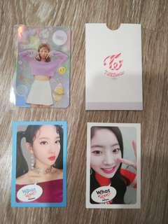 WTS twice random photocards, yes or yes phtocards