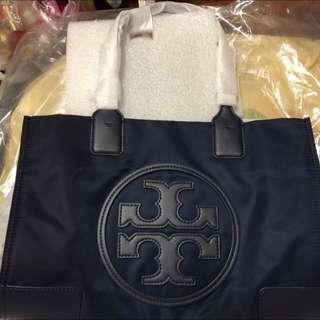 Tory Burch Elle tote navy 全新正貨